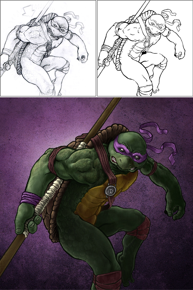 Donatello_Layout