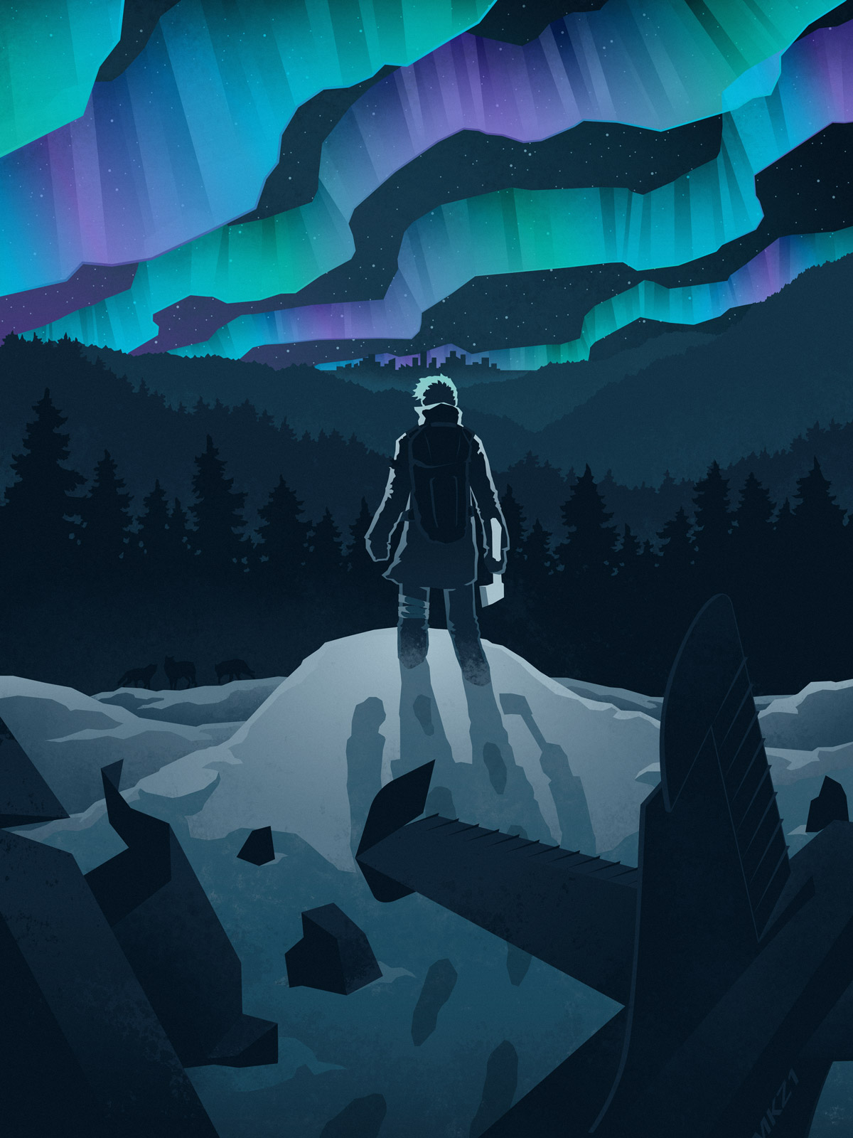 The Long And Short Of Decorating Your Room In Bohemian: The Long Dark: Key Art